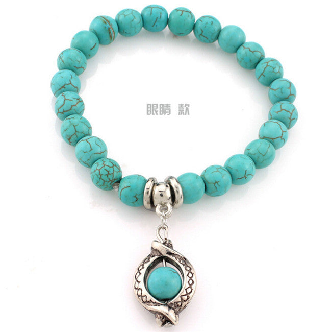 Bohemian Turquoise Bracelets - All Things Jewelry