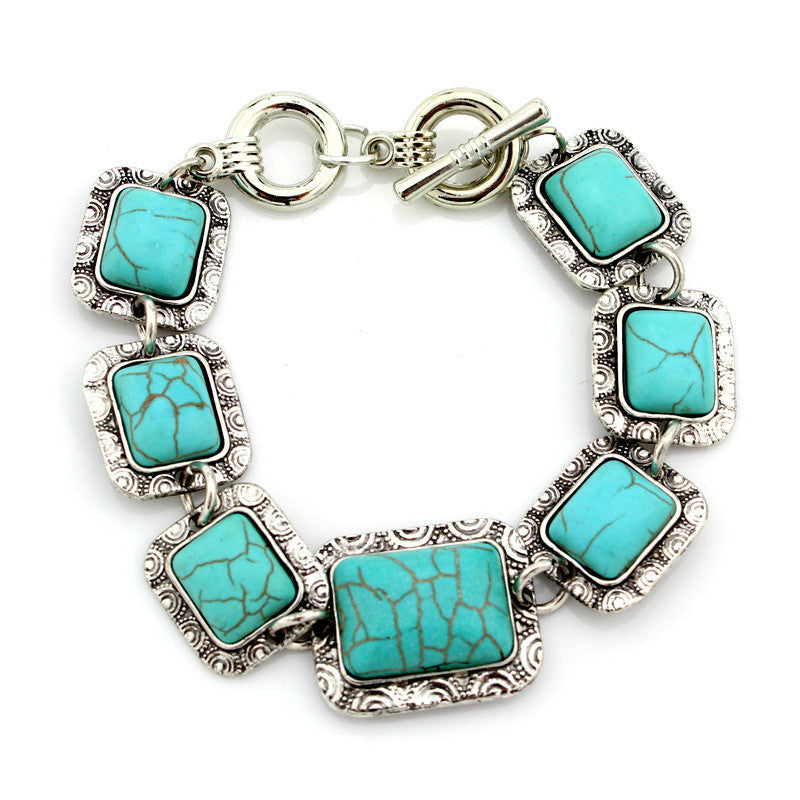 Retro Turquoise Bracelet - All Things Jewelry