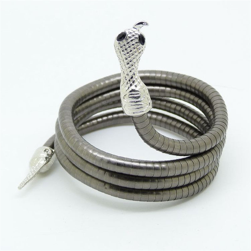 Snake Shape Bracelet - All Things Jewelry
