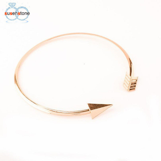 SUSENSTONE 1PC Metal Necklace Fashion Retro Women's Chain Chokers Necklaces - All Things Jewelry