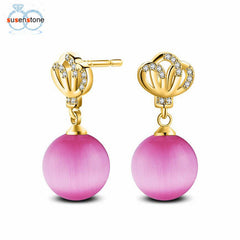 SUSENSTONE Fashion Pearl Crystal Rhinestone Jewelry - All Things Jewelry
