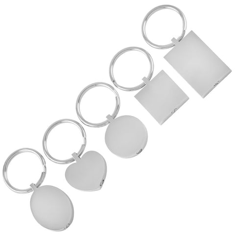 IJK2010 Five-piece Set Urn Keychain 316L Stainless Steel - All Things Jewelry