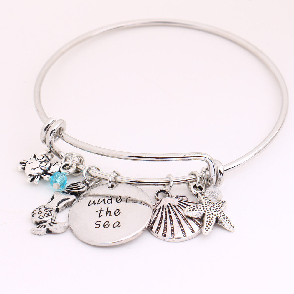 Under The Sea Charm Bangles - All Things Jewelry