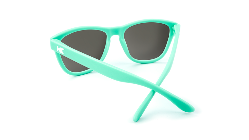 97eb76f3ddb7 ... Flyover  Premiums Sunglasses with Mint Green Frames and Black Smoke  Lenses