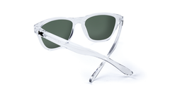 431b07891bc ... Premiums Sunglasses with Clear Frames and Green Moonshine Mirrored  Lenses
