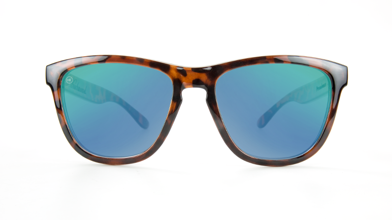 990ce9b7db0 ... Flyover  Premiums Sunglasses with Tortoise Shell Frames and Green  Moonshine Mirrored Lenses