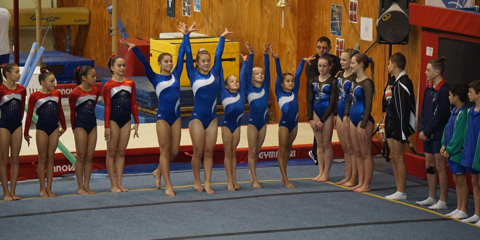 Recreational Gymnastic Competition Results