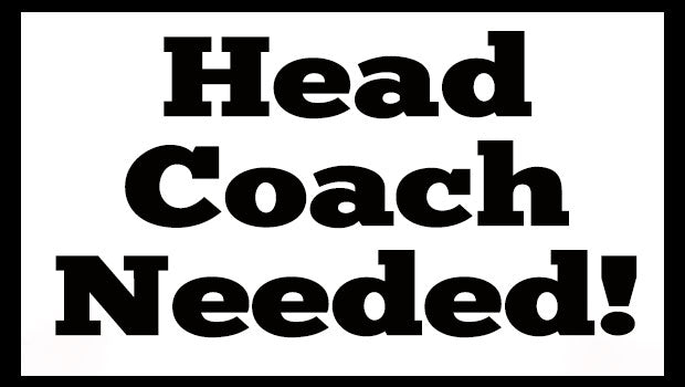 Head Coach Job Vacancy