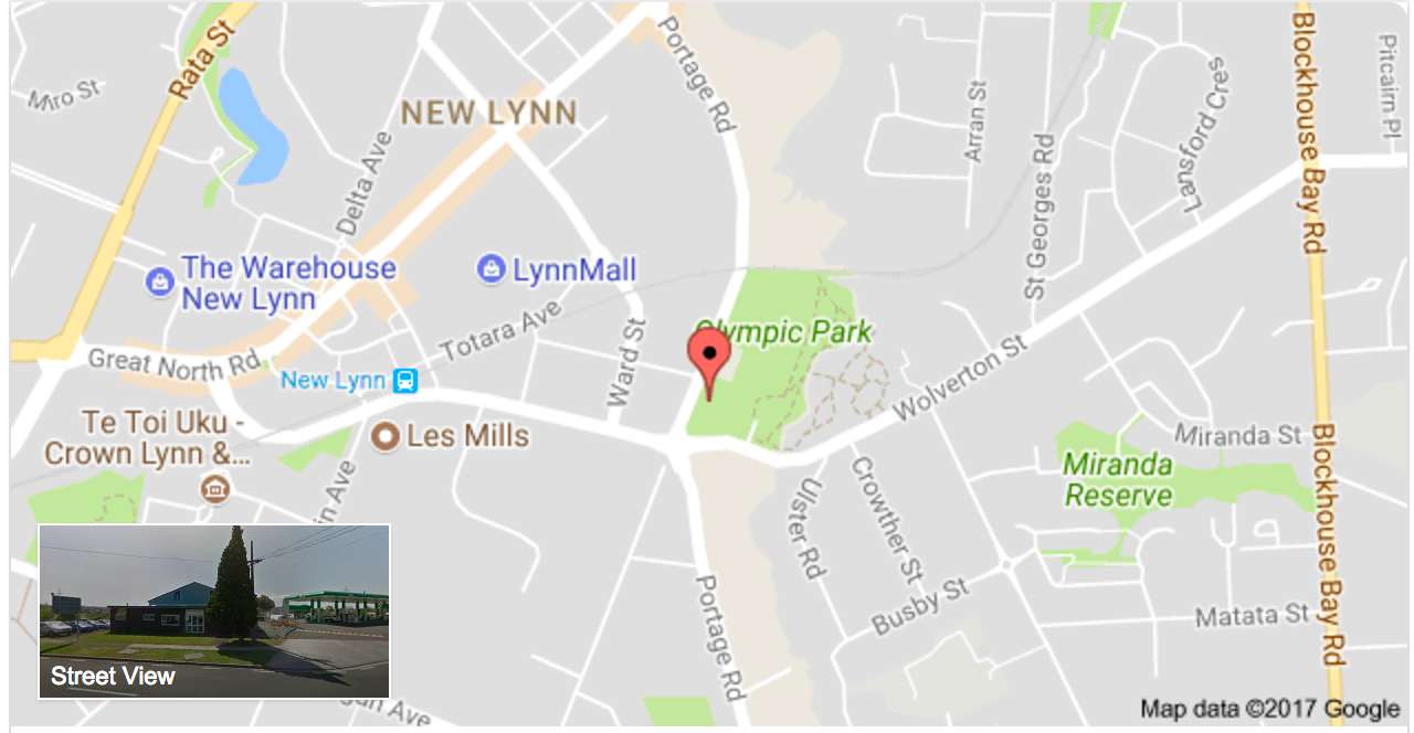 MAP Waitakere Gymnastics Club 38 Portage Road, New Lynn