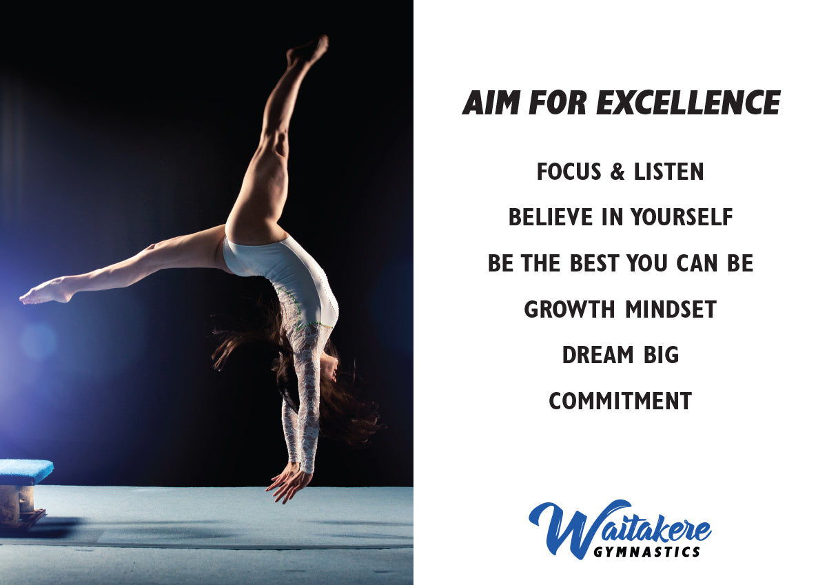 AIM FOR EXCELLENCE