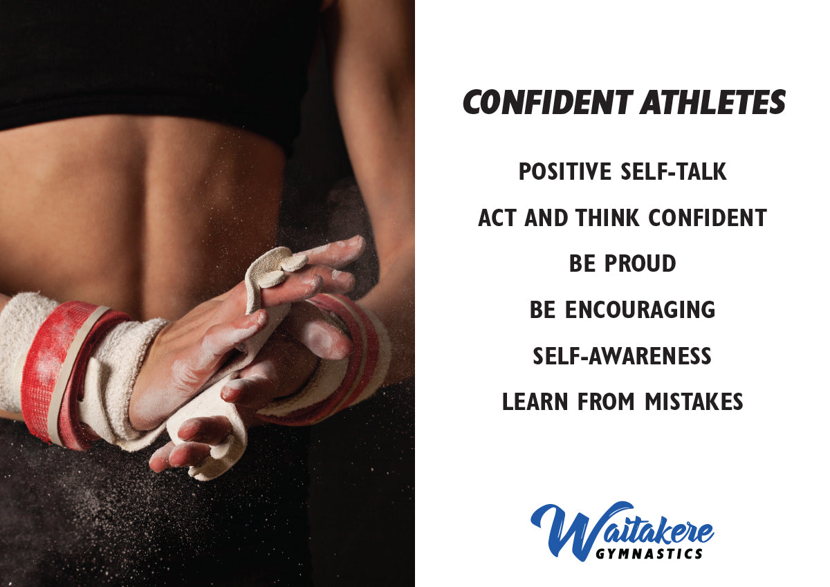 Club Values - Confident Athletes