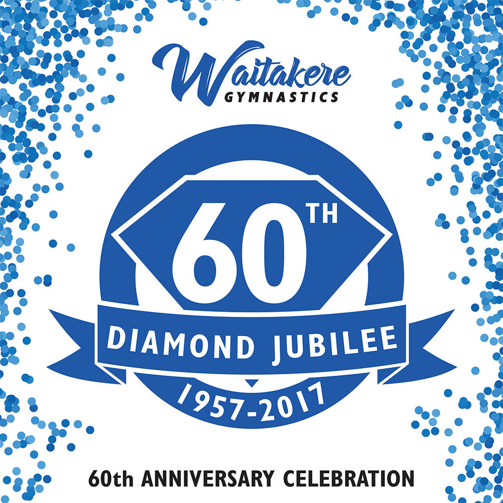 zzz/d TICKET - Waitakere Gymnastics Club 60th Anniversary Celebration