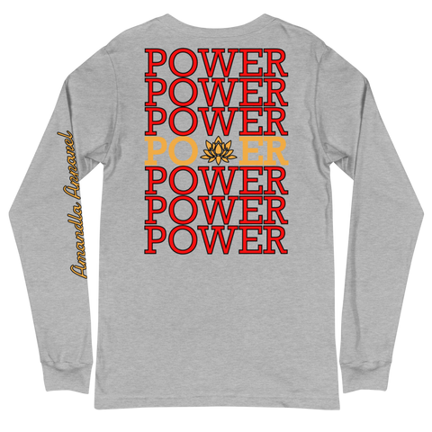 POWER STATEMENT Long-Sleeve - Athletic Heather