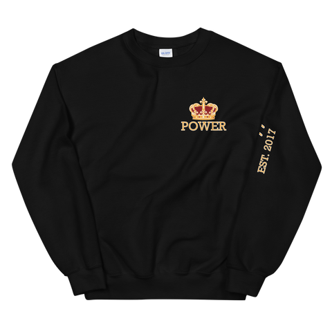 POWER STATEMENT Crewneck