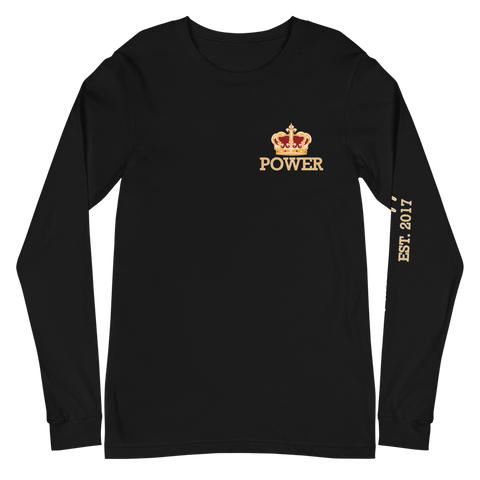 POWER STATEMENT Long-Sleeve - Black