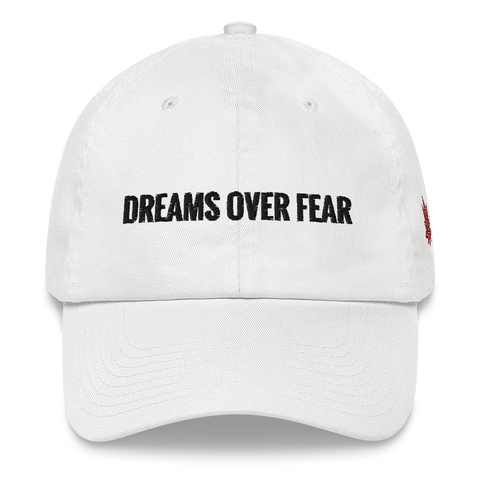 Dreams Over Fear Dad Hat (MORE COLORS AVAILABLE)