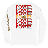 POWER STATEMENT Long-Sleeve - White