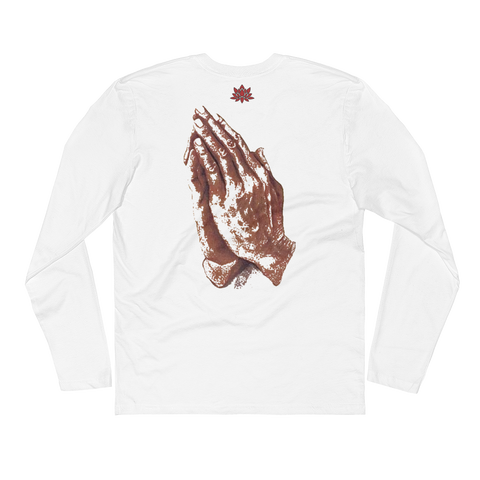 Keep God Close w/Prayer Hands Long Sleeve (MORE COLORS AVAILABLE)