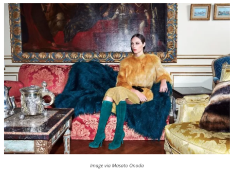 VISUAL THERAPHY - Chloé Mendel Introduces New Line of Faux Furs