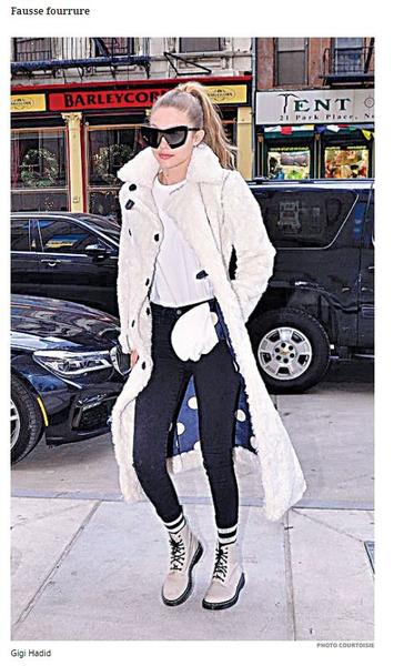 THE JOURNAL DE MONTREAL - Notes Faux-Fur is Taking Off