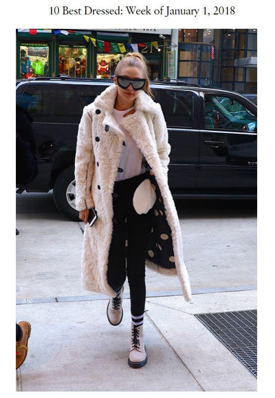 VOGUE - Gigi Hadid Wearing Maison Atia Made the Top 10 Best Dressed