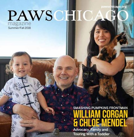 PAWS CHICAGO - Chloe Mendel's Faux Fur  Business Supporting  PAWS Chicago