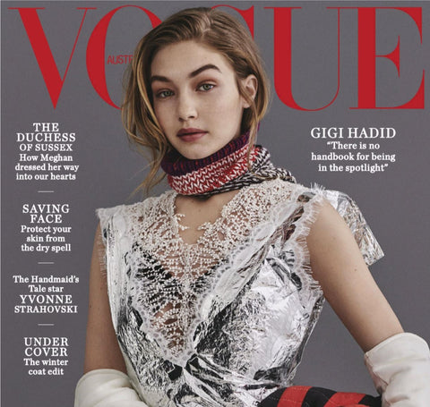 Front page of Vogue Australia