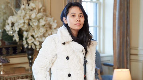 Chloe Mendel, the designer of Maison Atia