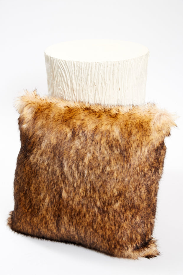 Pillow - Faux Fur Coyote