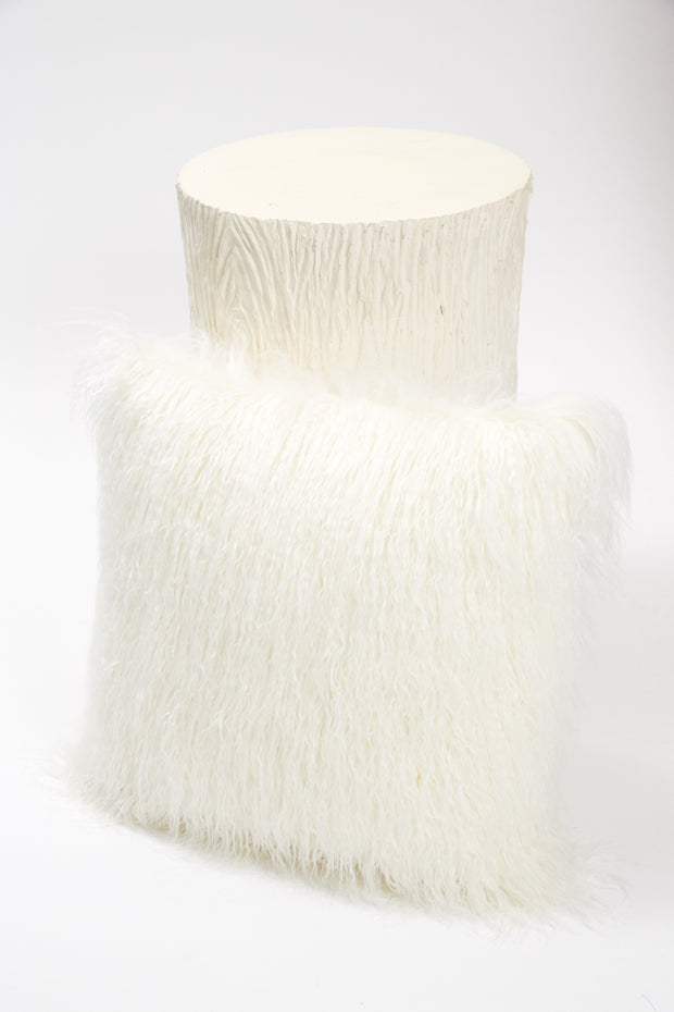 Pillow - Faux Fur Blanc