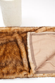 Blanket - Faux Fur Coyote