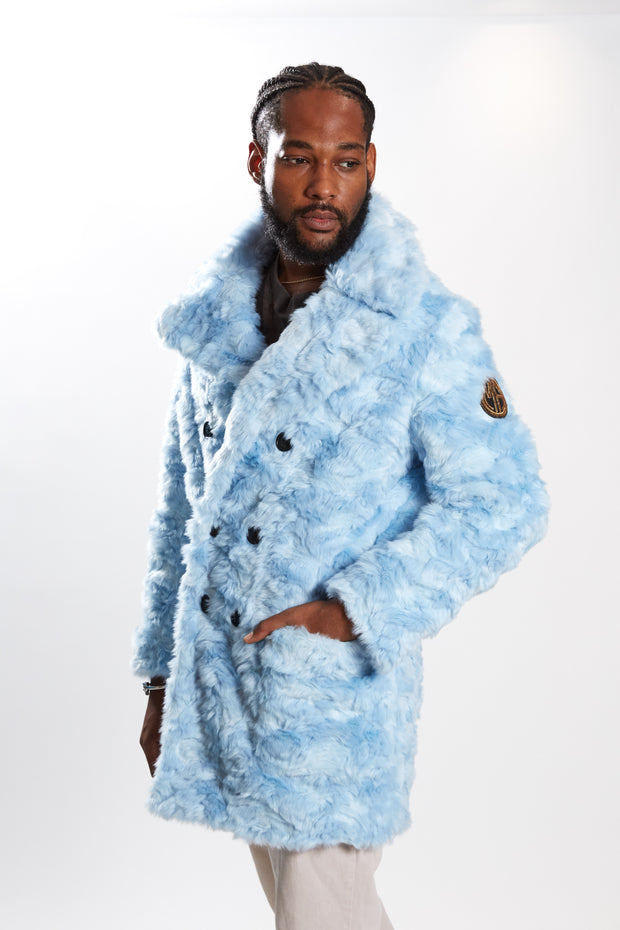 Billy - Faux Fur Baby Blue