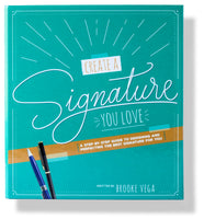 Image of the front cover of the Create a Signature You Love guide and workbook