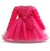 LACE TODDLER BABY GIRL CHRISTENING GOWN INFANT DRESS