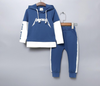 Baby girls clothes sets toddler boys set baby set autumn letter long sleeve hooded sweater + pants 2pcs suit