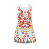 Girls Dress Kids Clothes Printed Princess Dress Toddler Clothing Children