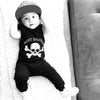 Skull Printed Romper born Baby Rompers Cotton Kids Clothing Black Boys Girls Clothes Children Clothing Jumpsuit