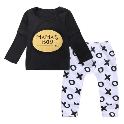 Kids boys autumn style infant clothes baby clothing sets boy long Sleeve T shirt+pants 2pcs baby