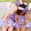 2Pcs/Set ! Sequins Newborn Baby Girl Lace TUTU Romper Spaghetti straps Halter Jumpsuit Playsuit Outfit Sunsuit Costume