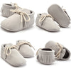 Autumn Winter Baby Boy Girl Baby Soft First Walkers Shoes Beby Fringe Soft Soled Non-slip Footwear Crib Leather Shoes born