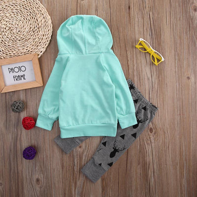Baby autumn style infant clothes baby clothing sets Newborn Baby 3 Piggy Hoodies+Long Pants 2pcs Outfits Clothes Set