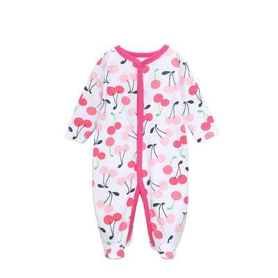 Nest Baby Clothes Boy Spring Autumn 0-12 M Baby Romper Unisex Winter Bear Printed New Born Baby Clothing