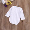 Autumn Toddler Kids Baby Boys Girls Long Sleeve Romper Tadpole Cotton Jumpsuit  Clothes Outfit