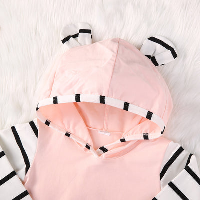 0-2Y Newborn Baby Girls Clothes Hoodie Tops T-shirt+Cotton Pants 2pcs suit newborn baby boys girls clothing sets