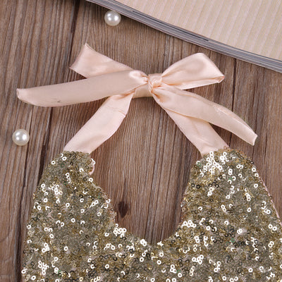 Baby Girls Sequins Skirt Romper Jumpsuit Summer Sun suit Outfits Clothes
