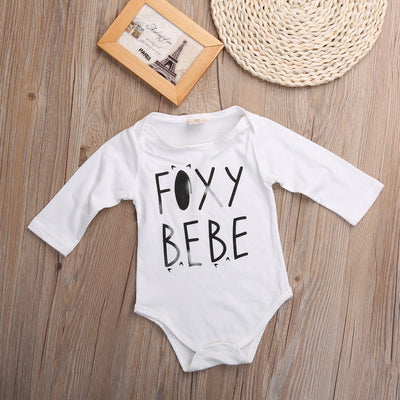 Baby Boy Girl Romper Long Sleeve Fox tail Autumn Baby clothes Newborn Next Jumpsuits Newborn Baby