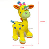 Cute Animal Deer born Baby Plush Toys Soft Cartoon Stuffed Kids Baby Rattles Mobiles Ring Hand bells Children Baby Godspeed