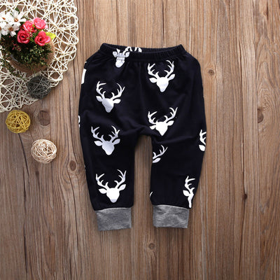 Newborn baby boys girls clothing 2pcs sets Baby Girl Boy Clothes Romper Top T-shirt+Pants Leggings Outfits Set