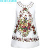 Girls Dress Princess Dress Kids Clothes Sleeveless Lemon Fruit Design for Girls Clothes
