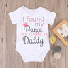 Baby Boy Girls Cotton Short Letter Printed Romper Jumpsuit born Kids Clothes Outfit
